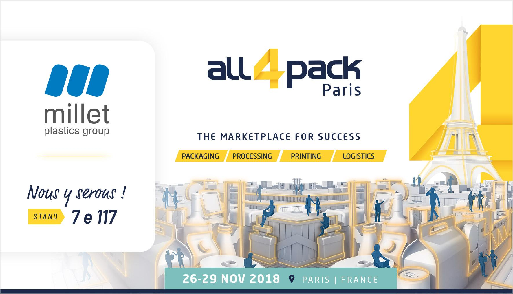 Présente au ALL FOR PACK de Paris
