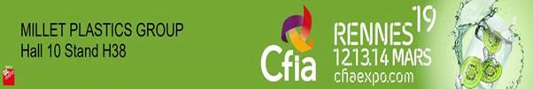 Millet Plastics Group au CFIA de Rennes