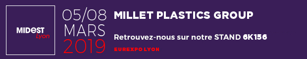 Millet Plastics Group au MIDEST de Lyon