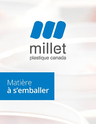 Millet Plastique Canada lance son site internet